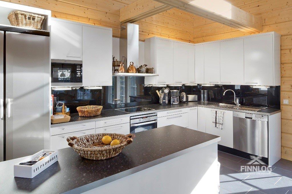 Lyra Blockhaus - Küche